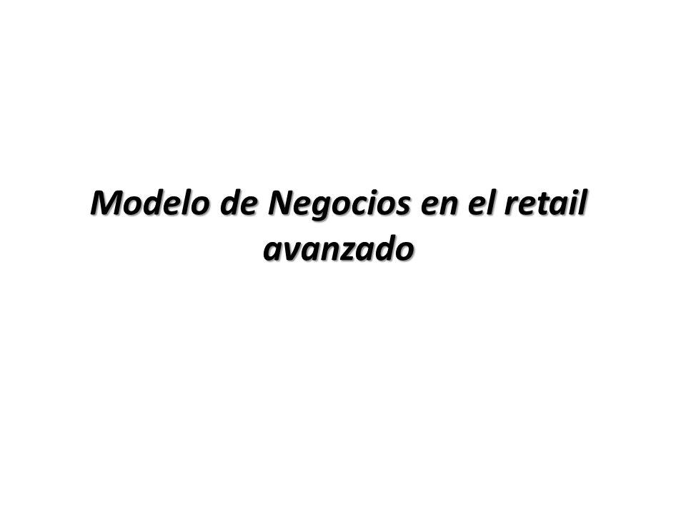 Modelo de Negocios en el retail avanzado
