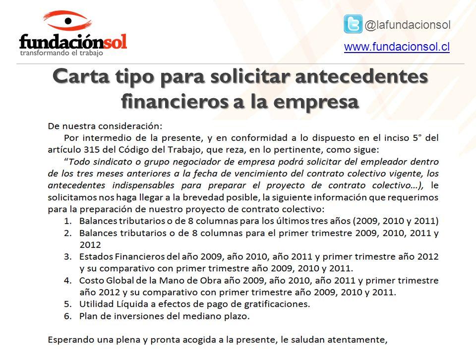 @lafundacionsol www.fundacionsol.clwww.fundacionsol.cl Carta tipo para solicitar antecedentes financieros a la empresa