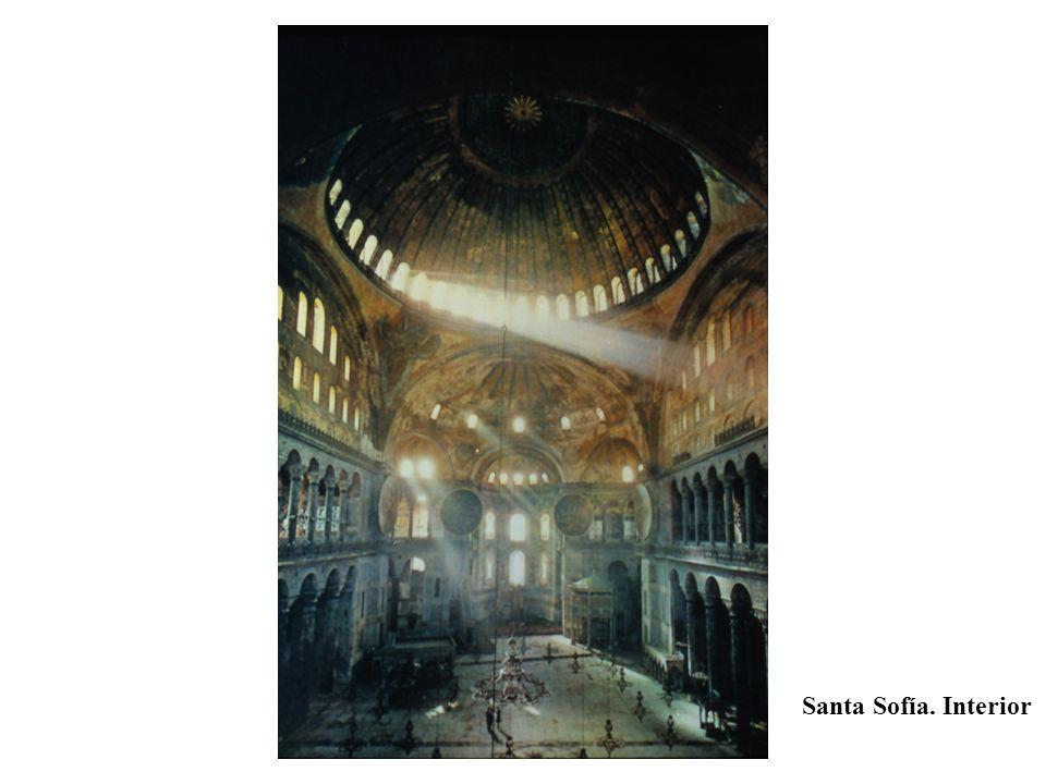 Santa Sofía. Interior