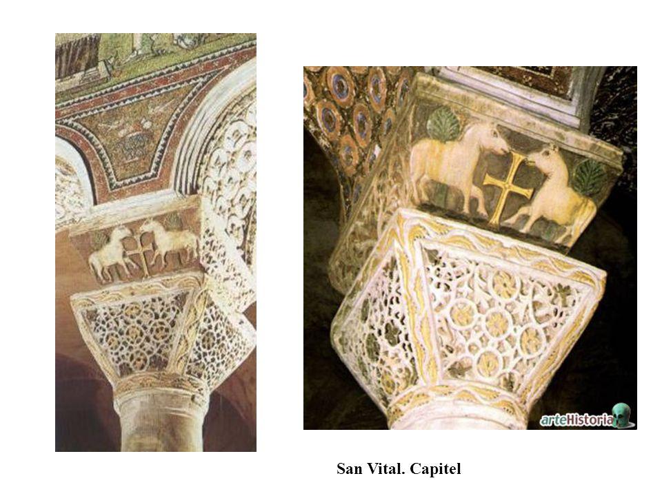 San Vital. Capitel