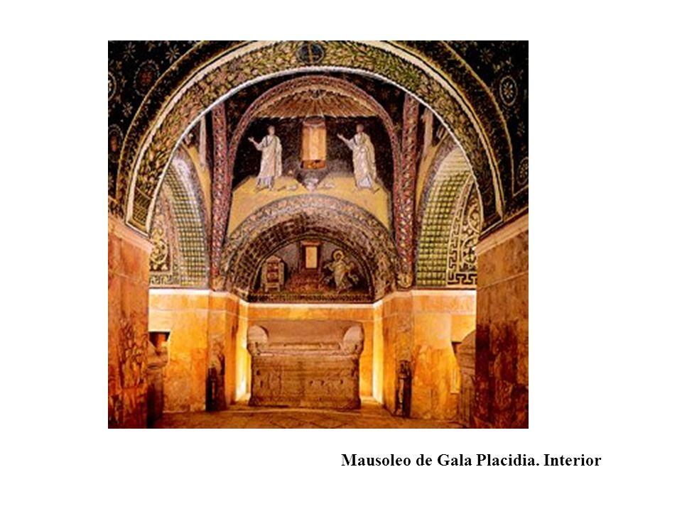 Mausoleo de Gala Placidia. Interior