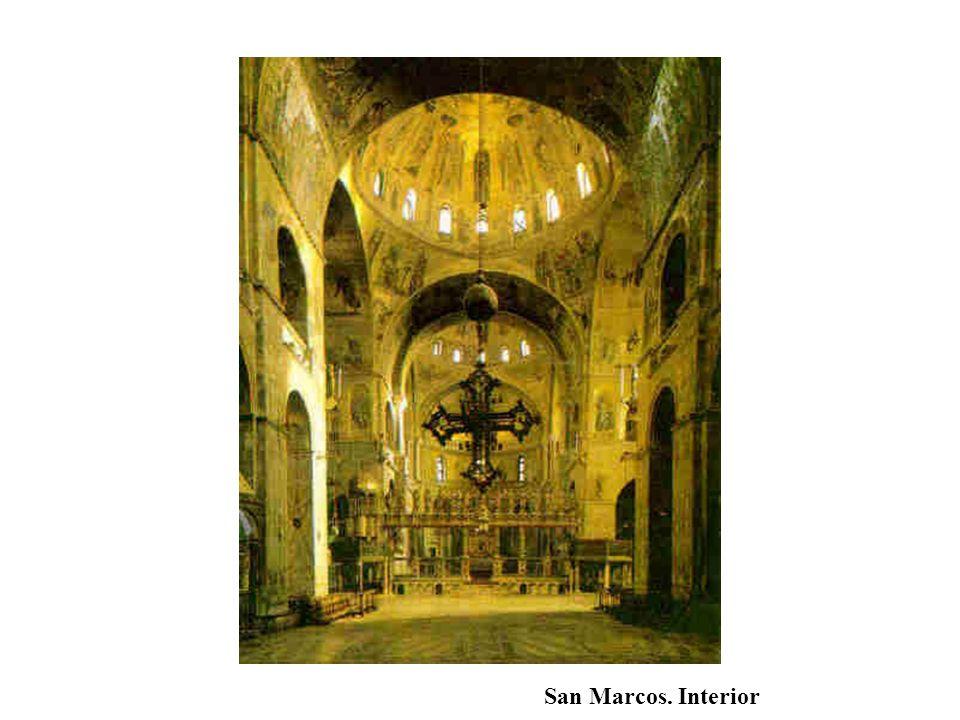 San Marcos. Interior