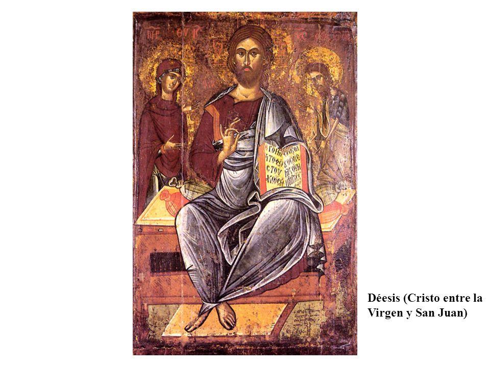 Déesis (Cristo entre la Virgen y San Juan)