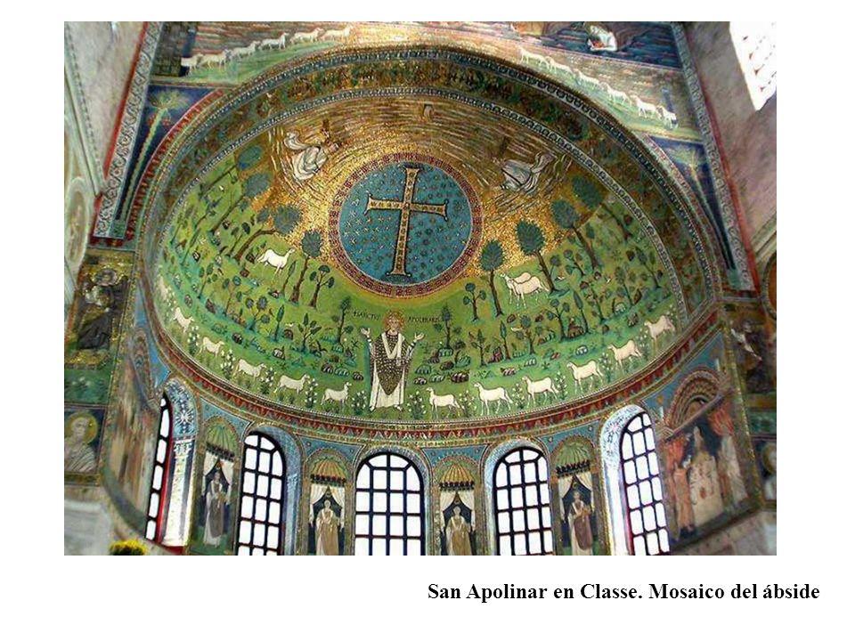 San Apolinar en Classe. Mosaico del ábside