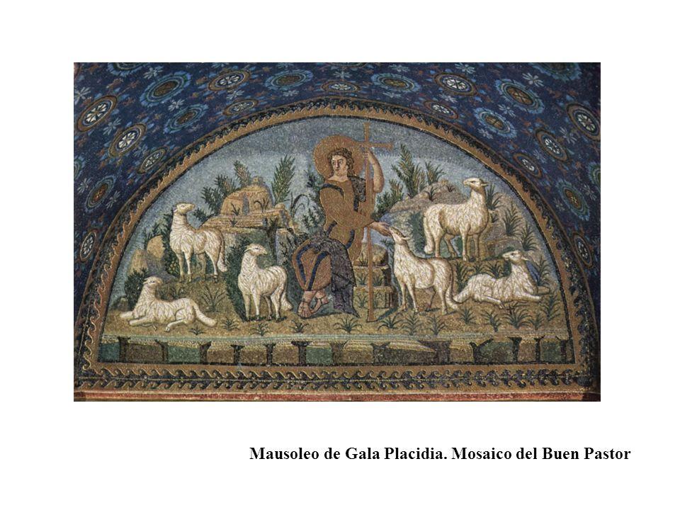 Mausoleo de Gala Placidia. Mosaico del Buen Pastor