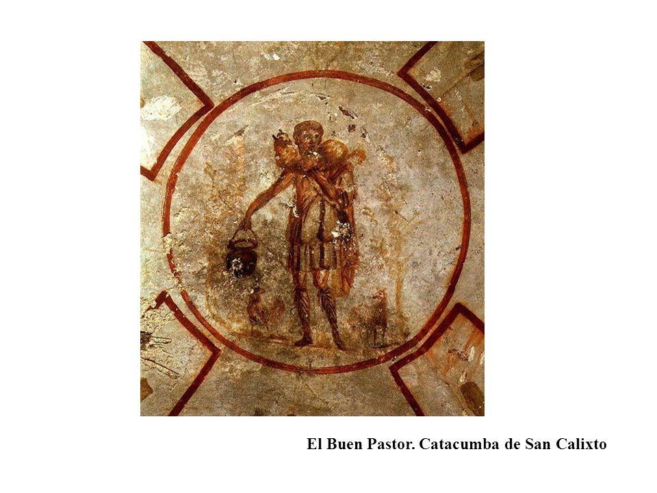 El Buen Pastor. Catacumba de San Calixto