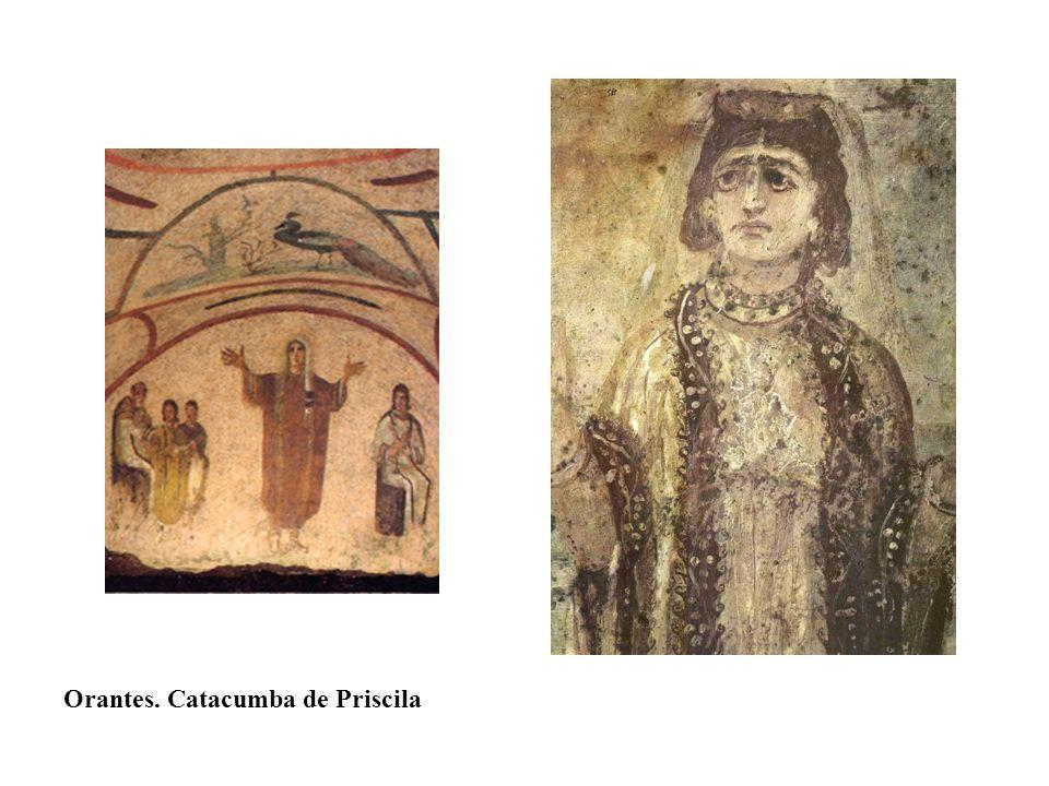 Orantes. Catacumba de Priscila