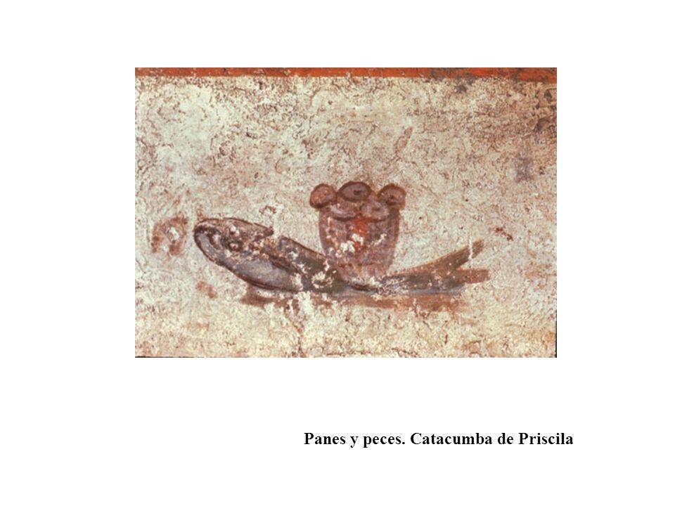 Panes y peces. Catacumba de Priscila