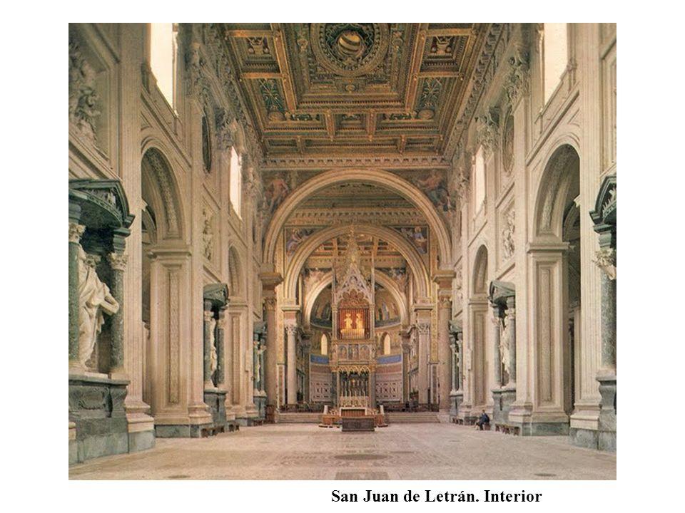 San Juan de Letrán. Interior