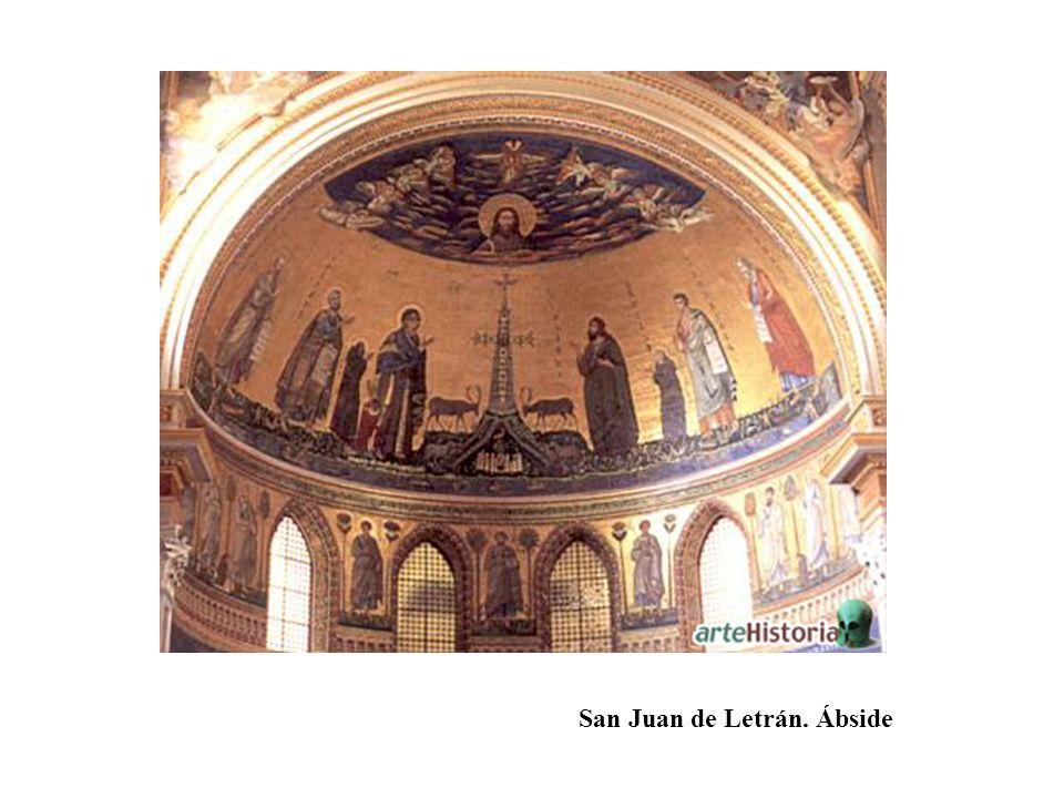 San Juan de Letrán. Ábside