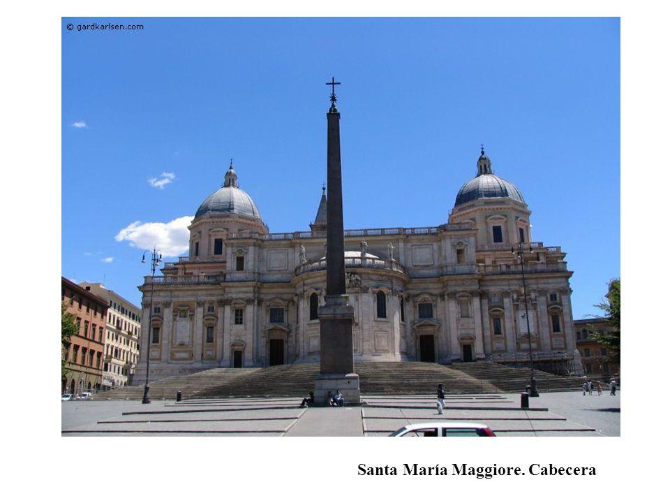 Santa María Maggiore. Cabecera