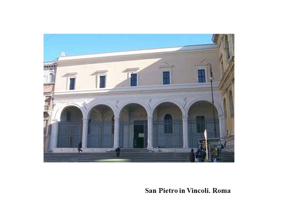San Pietro in Vincoli. Roma
