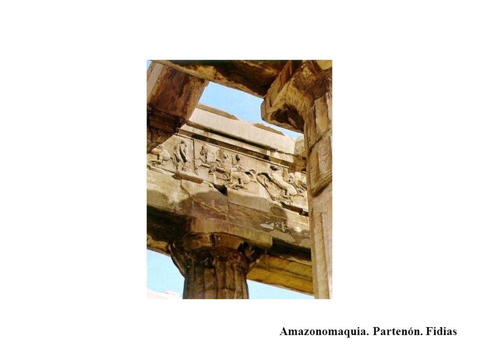 Amazonomaquia. Partenón. Fidias