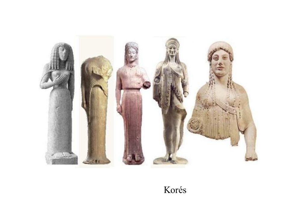 Guerrero y arquero de los frontones de Egina