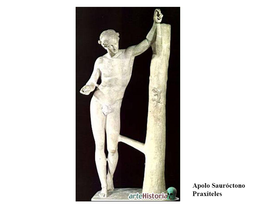 Apolo Sauróctono Praxiteles