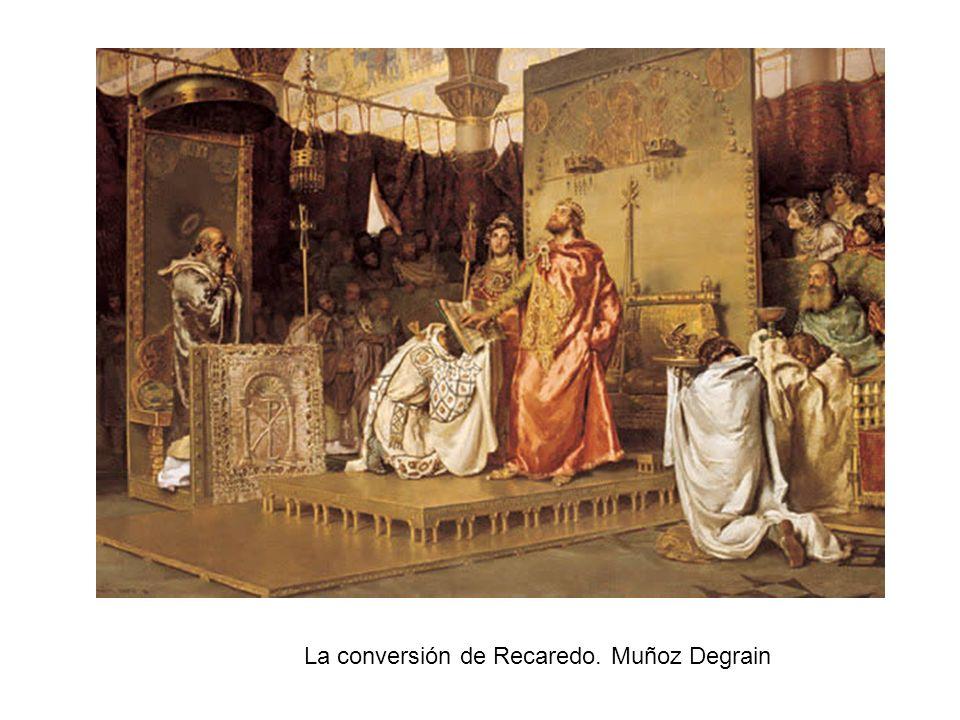 La conversión de Recaredo. Muñoz Degrain