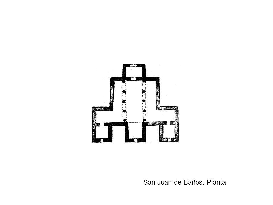 San Juan de Baños. Planta