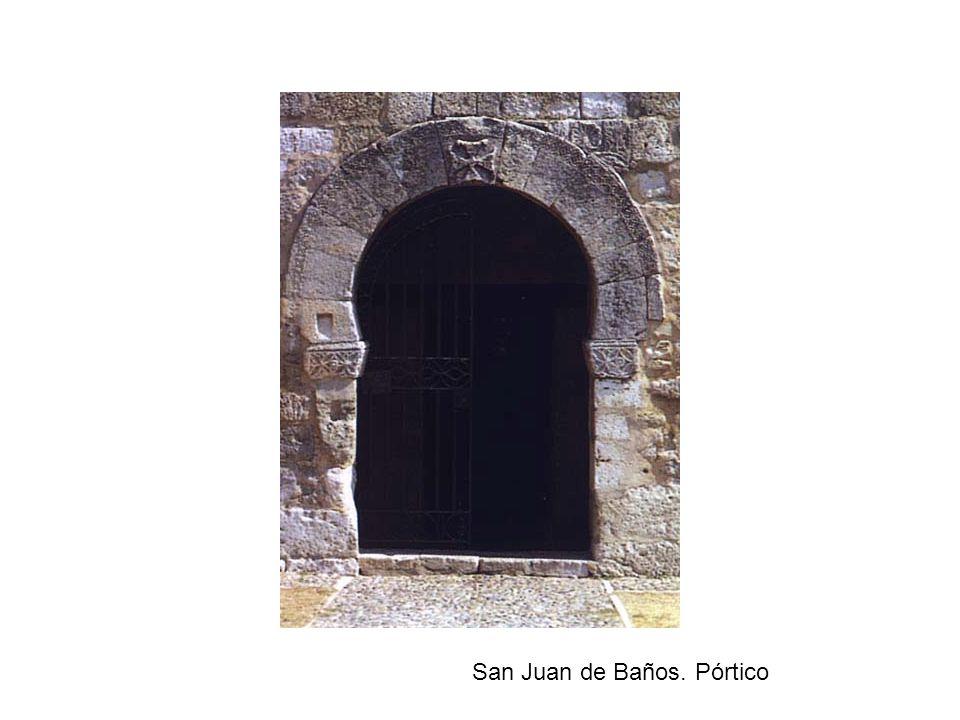 San Juan de Baños. Pórtico