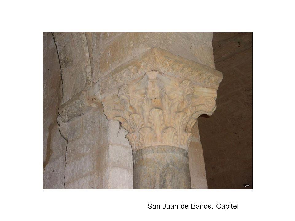 San Juan de Baños. Capitel