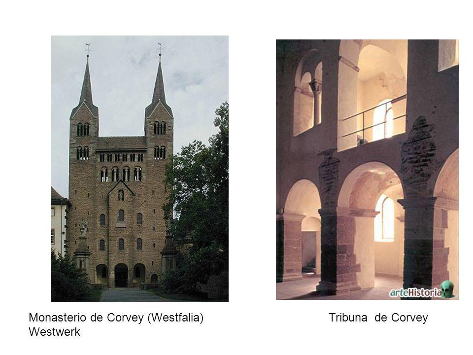 Monasterio de Corvey (Westfalia) Tribuna de Corvey Westwerk