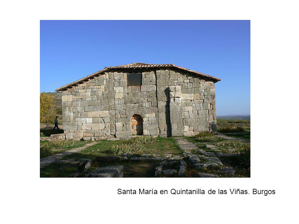Santa María en Quintanilla de las Viñas. Burgos