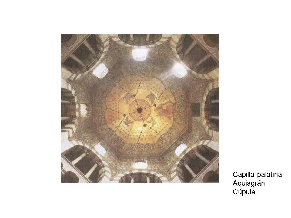Capilla palatina Aquisgrán Cúpula