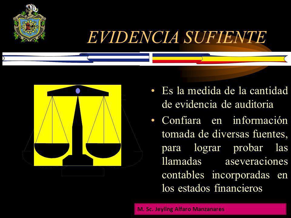 EVIDENCIA SUFICIENTE APROPIADA DE LA AUDITORIA La evidencia de auditoria es mas confiable cuando existe forma documental, ya sea en papel electrónico