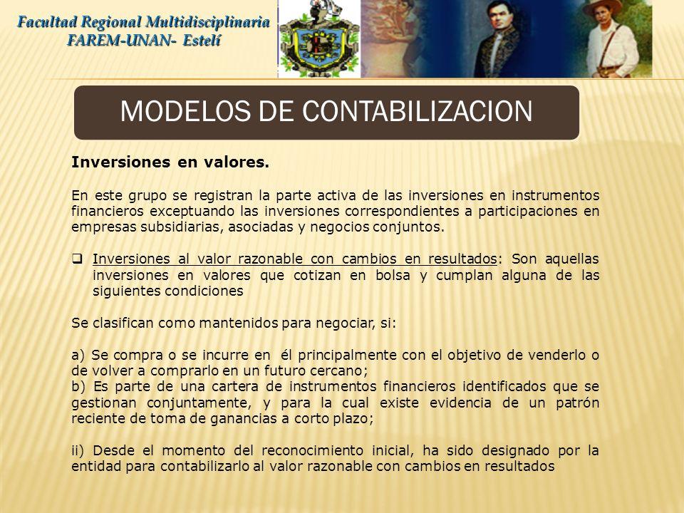 Consolidación de Estados Financieros Facultad Regional Multidisciplinaria FAREM-UNAN- Estelí Deberá regularizarse todo saldo pendiente entre las disti
