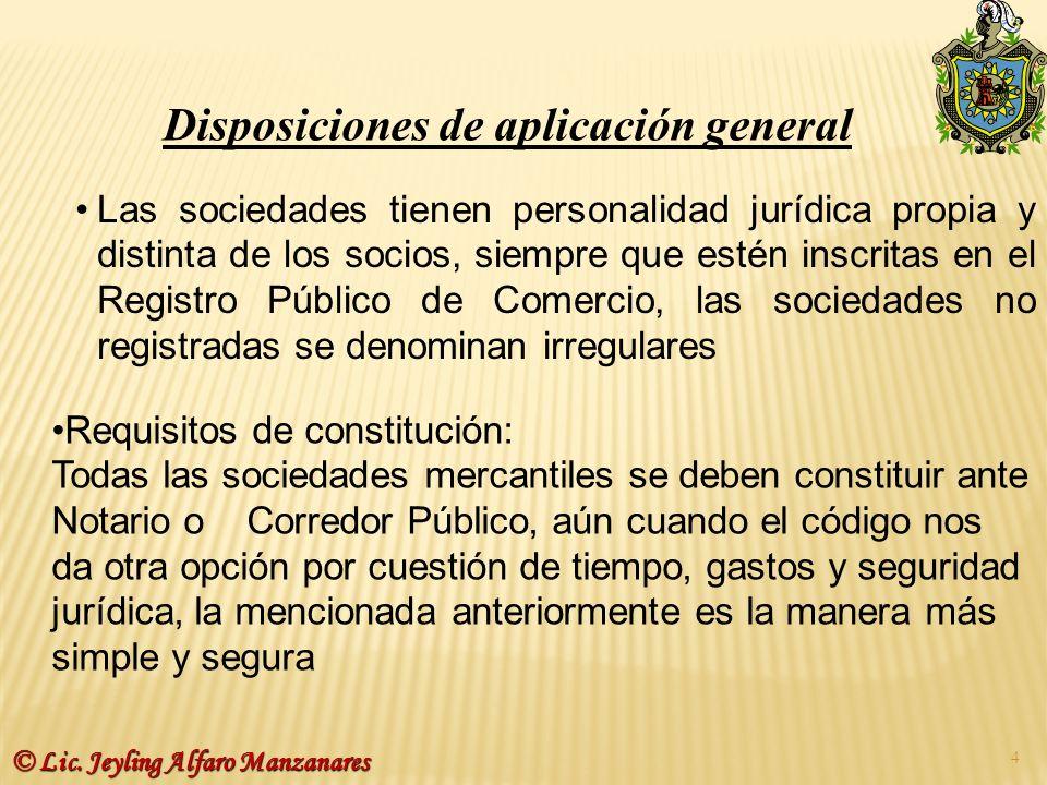 Contenido de la escritura de Constitución b) Su razón ó denominación social.