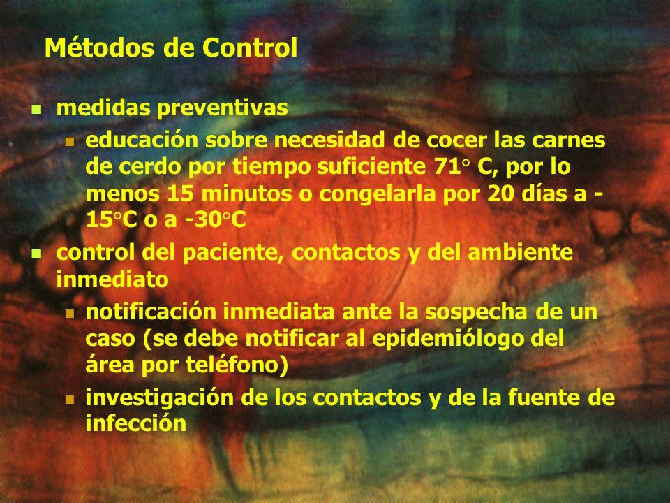 Terapia Antiparasitarios Albendazol el objetivo es matar a las adultos hembras en el intestino y evitar la migración de mayor número de larvas al torr
