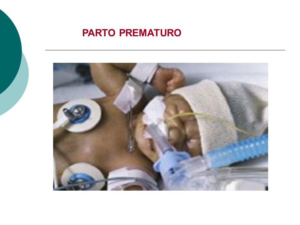 PARTO PREMATURO: PATOLOGÍA AUGE Toda mujer embarazada que tenga factores de riesgo de parto prematuro desde el punto de vista clínico o que presente síntomas de parto prematuro durante su embarazo, tendrá derecho a diagnóstico y tratamiento.