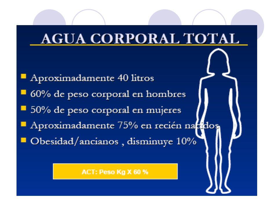 BALANCE HIDROELECTROLÍTICO PERDIDAS EXTRAORDINARIAS: PERDIDAS EXTRAORDINARIAS: PERDIDAS INSENSIBLES: PERDIDAS INSENSIBLES: 5 ml / Kg / número de horas /op ( abdomen abierto) 5 ml / Kg / número de horas /op ( abdomen abierto) 0.5 ml/Kg/ (24 hrs - número de horas s/op) 0.5 ml/Kg/ (24 hrs - número de horas s/op) FIEBRE: FIEBRE: 150 ml por cada 1 C°,por encima de 37.5° C 150 ml por cada 1 C°,por encima de 37.5° C HIPERVENTILACIÓN: HIPERVENTILACIÓN: 100 ml por cada 5 respiraciones por encima de 20 100 ml por cada 5 respiraciones por encima de 20