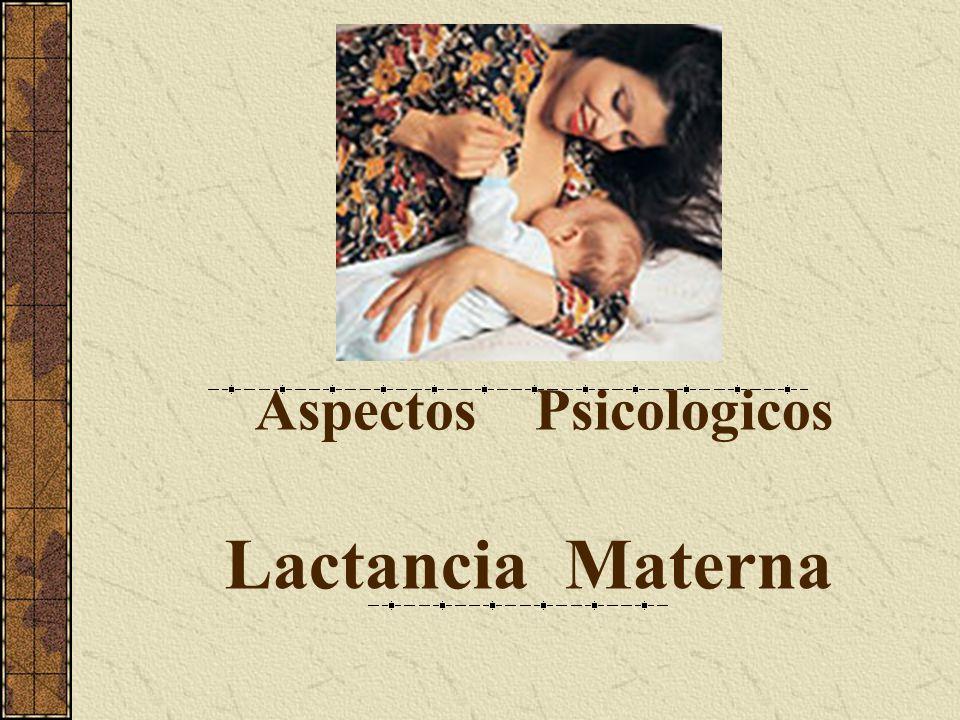 Lactancia Materna Aspectos Psicologicos