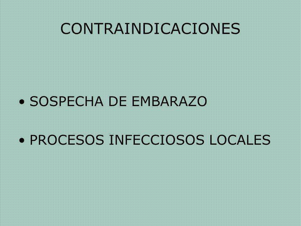 MATERIALES Y PROCEDIMIENTO Legrado uterino BAJO SEDO-ANALGESIA ( Valium 10mgrs.
