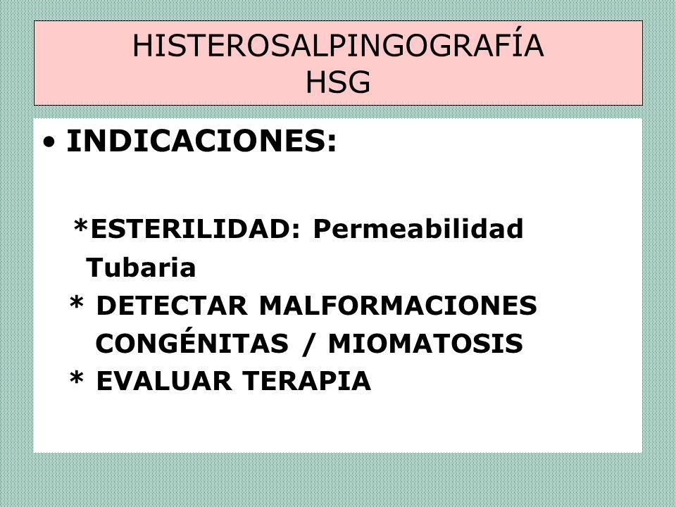 CONTRAINDICACIONES EMBARAZO O SOSPECHA DE EMBARAZO INFECCIÓN ABDOMINAL AGUDA TBC.
