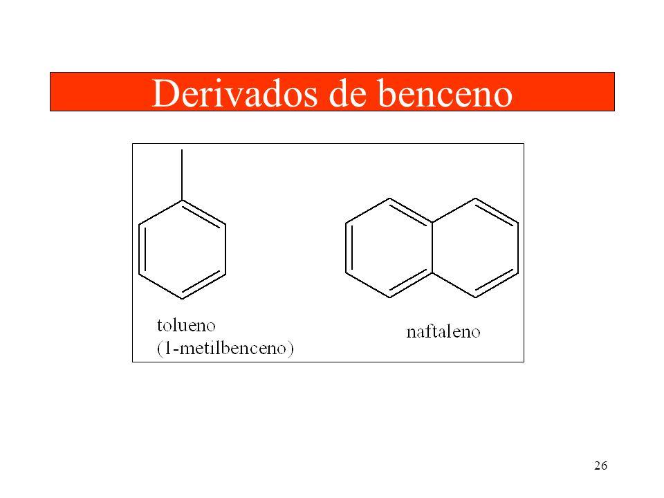 26 Derivados de benceno