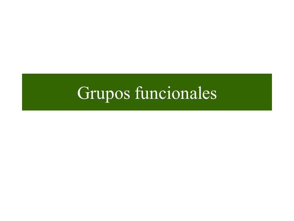 Grupos funcionales