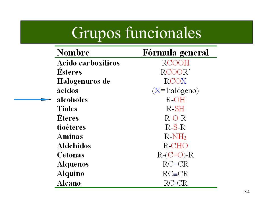 34 Grupos funcionales