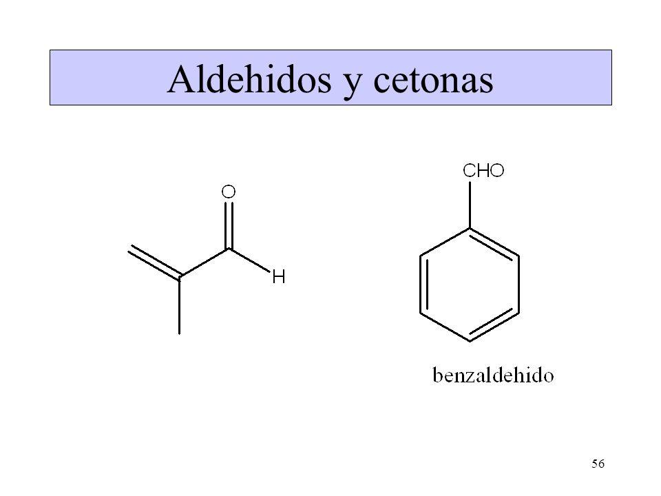 56 Aldehidos y cetonas