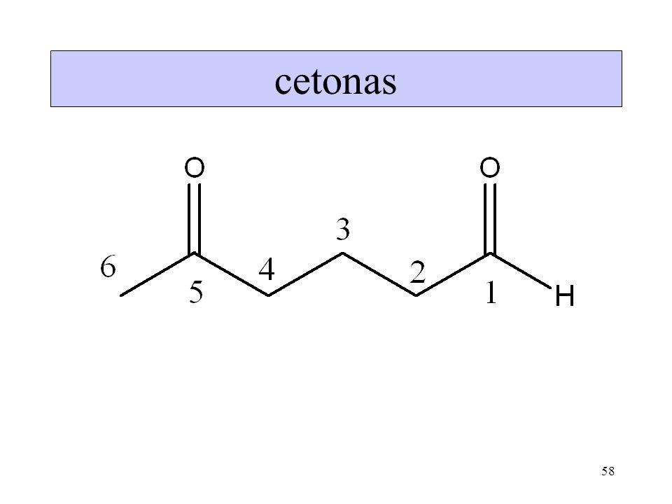 58 cetonas