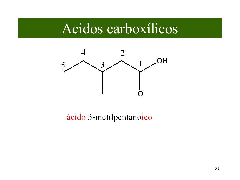 61 Acidos carboxílicos