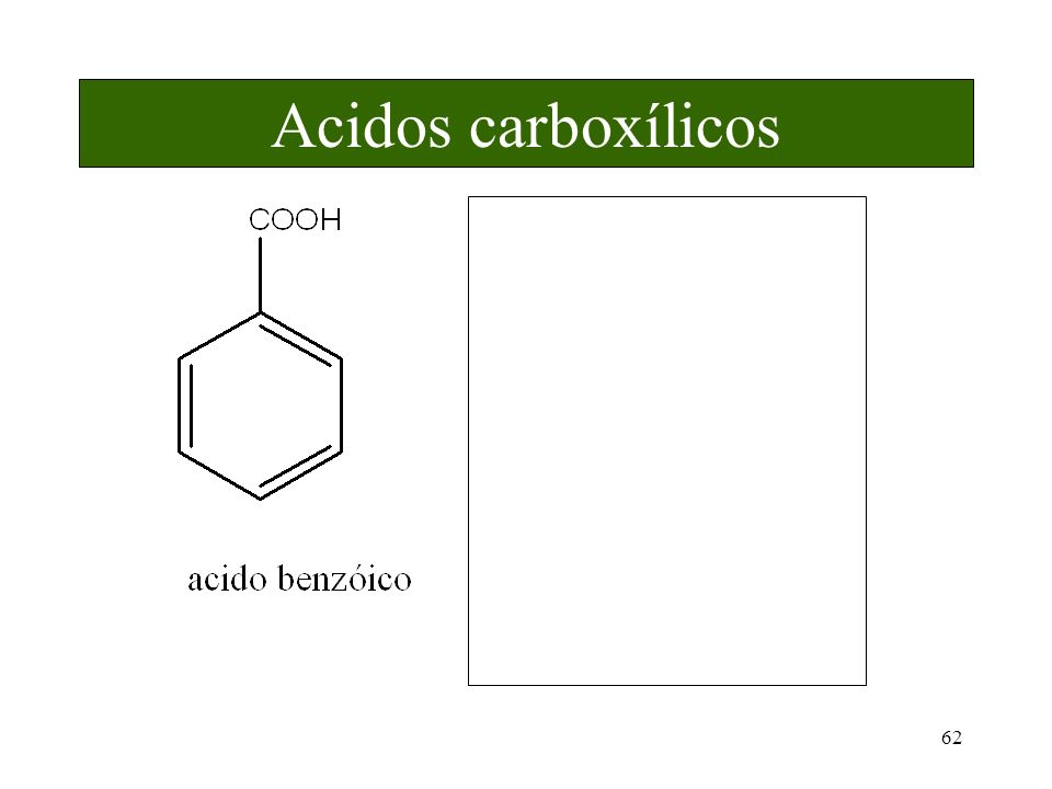 62 Acidos carboxílicos