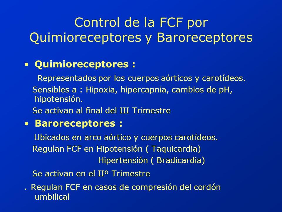 DIPS VARIABLES MECANISMO DE PRODUCCIÓN Compresión del cordón umbilical Hipertensión arterial en el feto Estimula barorreceptores aórticos y carotídeos Bradicardia Refleja por estímulo del nervio neumogástrico ( Vago)