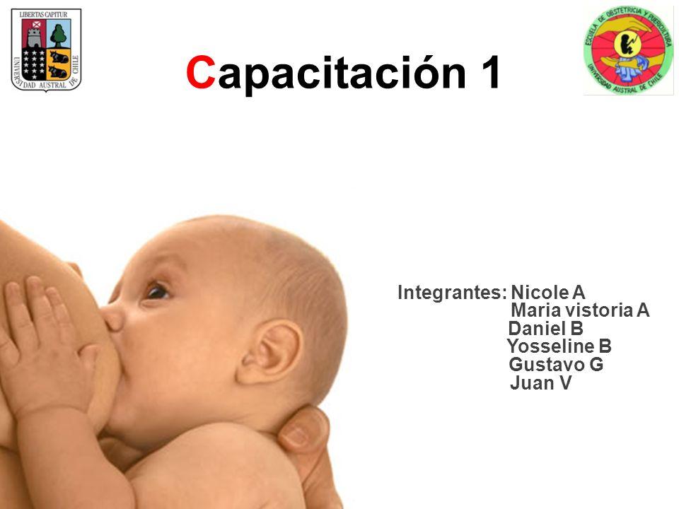 Capacitación 1 Integrantes: Nicole A Maria vistoria A Daniel B Yosseline B Gustavo G Juan V