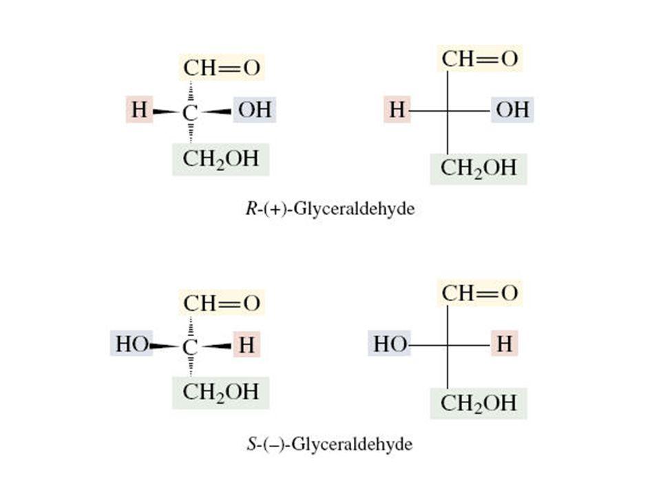 Estructura de los monosacáridos y su forma anomérica La forma cíclica posee un carbón anomérico.