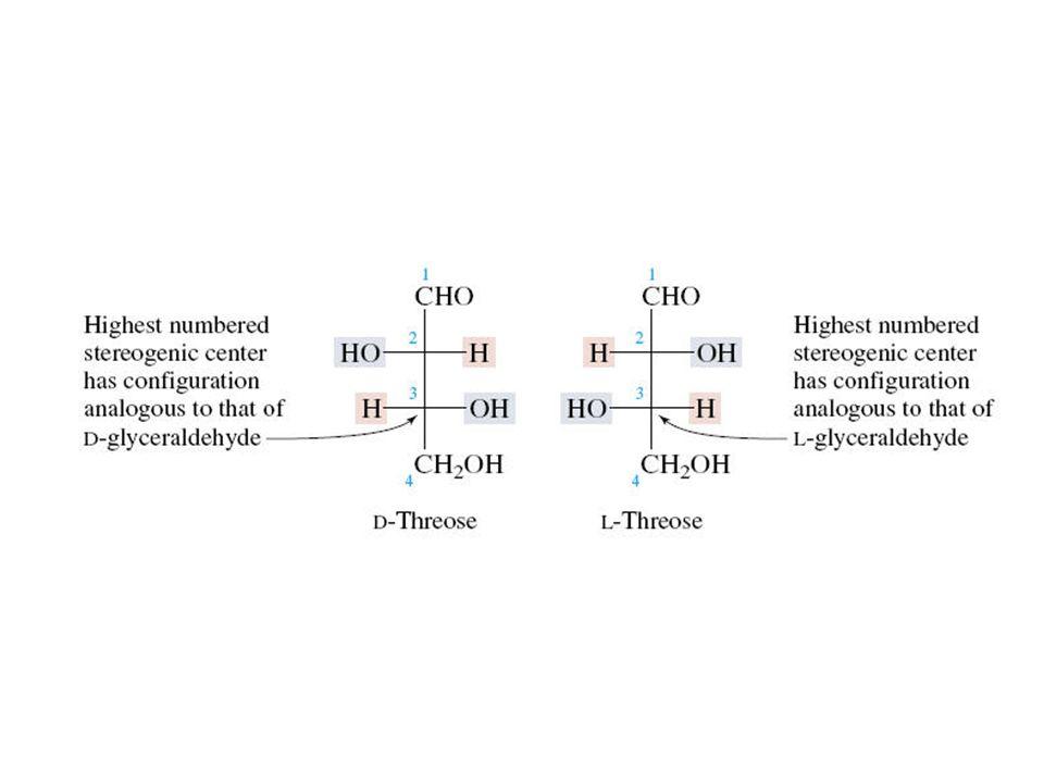 Monosacáridos Una revisión de química orgánica Aldosas y Cetosas contienen funciones aldehído y cetona, respectivamente.