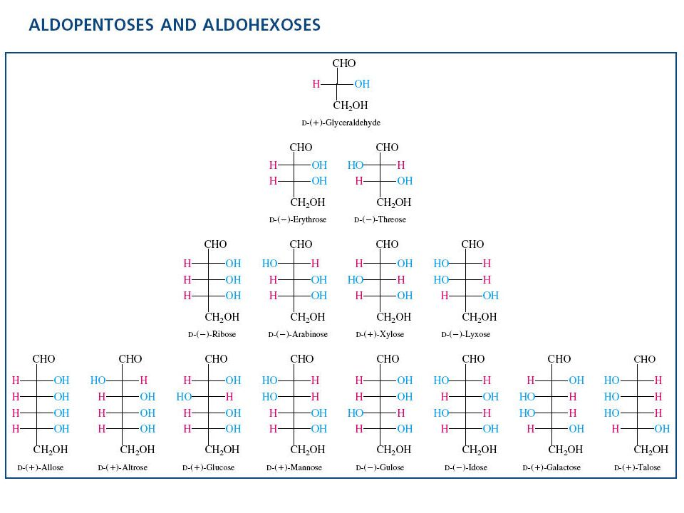 Estructuras silla y bote de las piranosas
