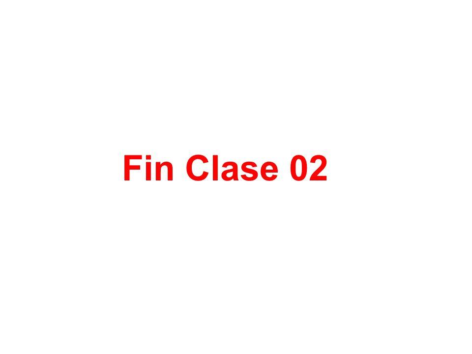 Fin Clase 02