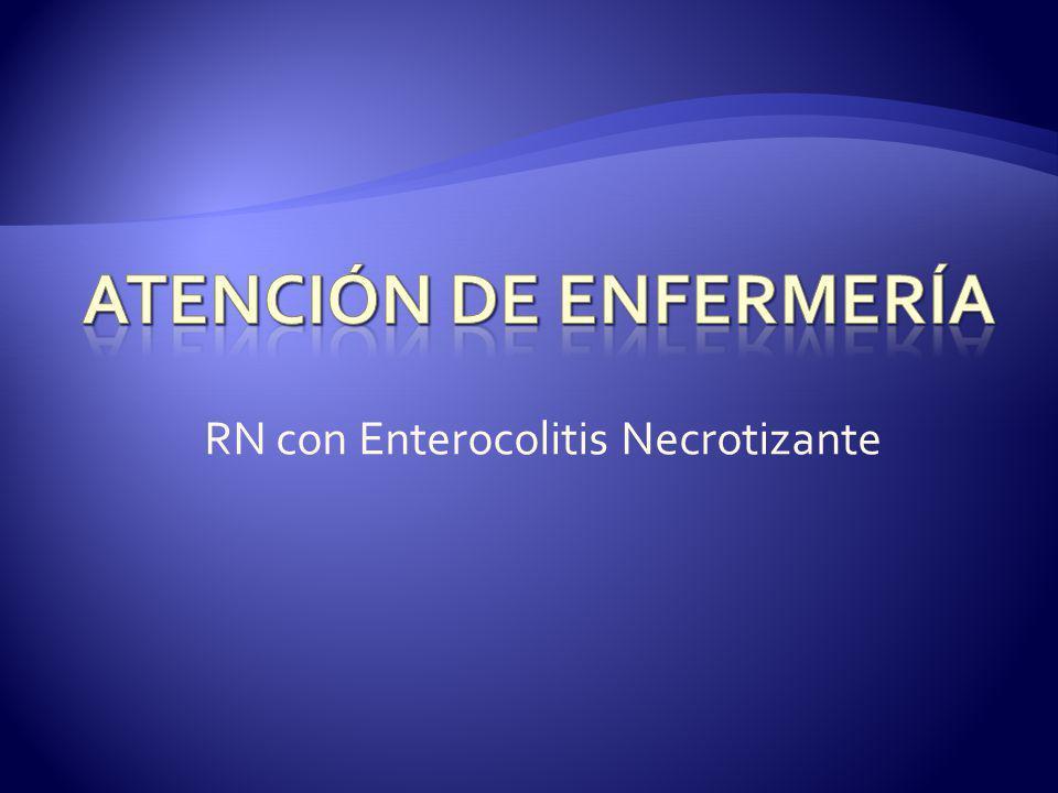 RN con Enterocolitis Necrotizante