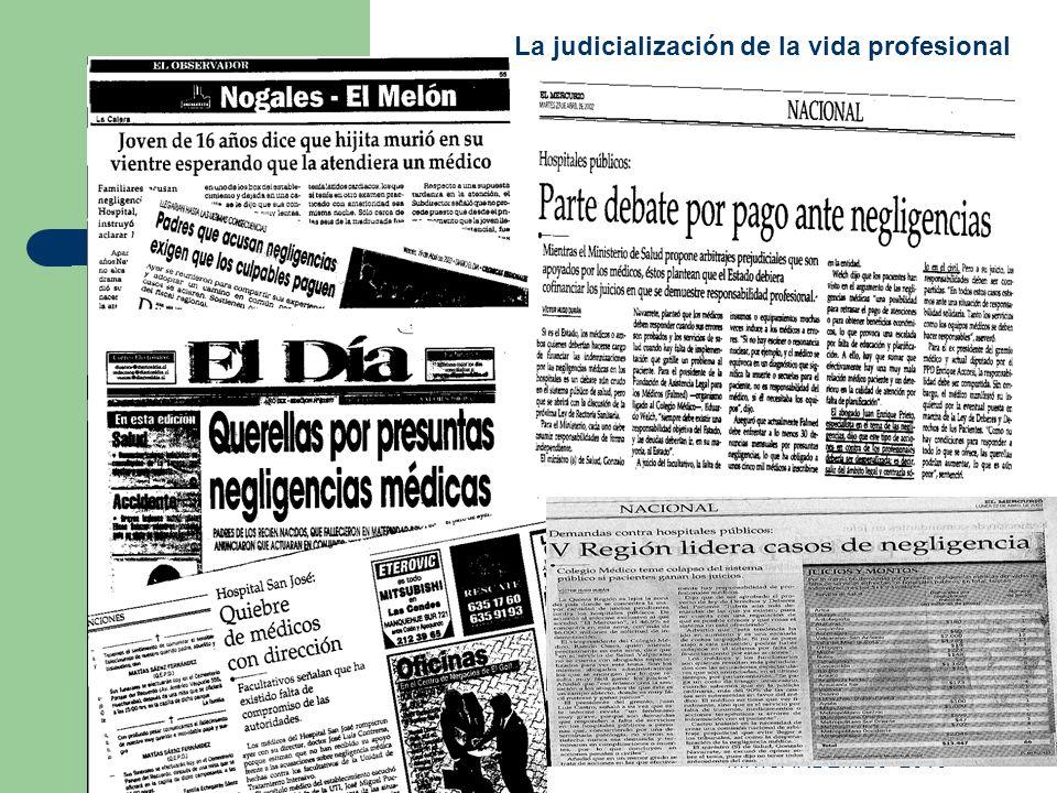 M.T.CARDEMIL J- 2010 La judicialización de la vida profesional
